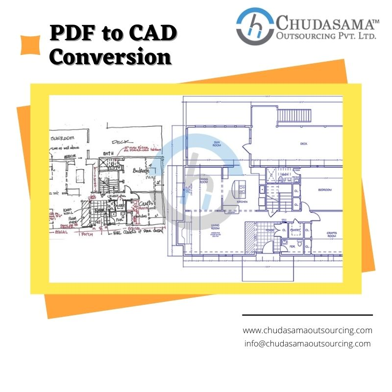 Best PDF to CAD Conversion USA Chudasama Outsourcing