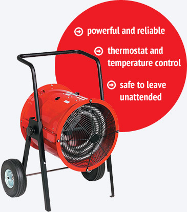 Best Salamander Heater on Rental in the USA