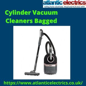 Buy Cylinder Vacuum Cleaners Bagged at Atlantic Electrics