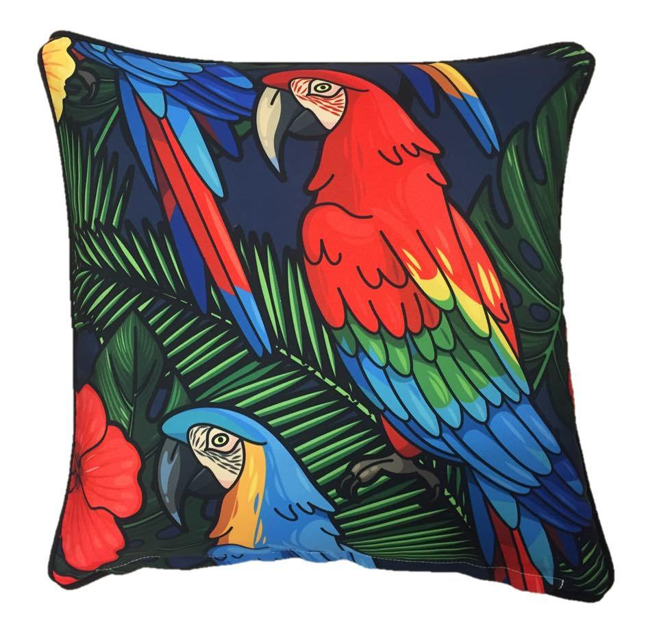 Buy Macaw Outdoor Cushion Cover 45cm x 45cm Online