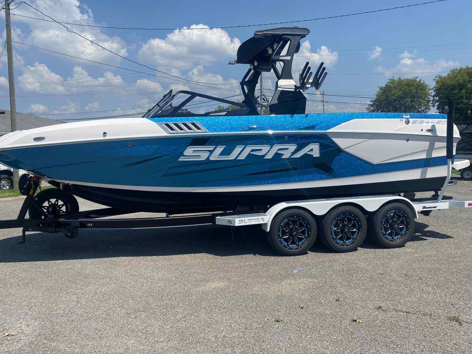 Classy and Dynamic Supra Boats now available at Premier Watersports in Knox...