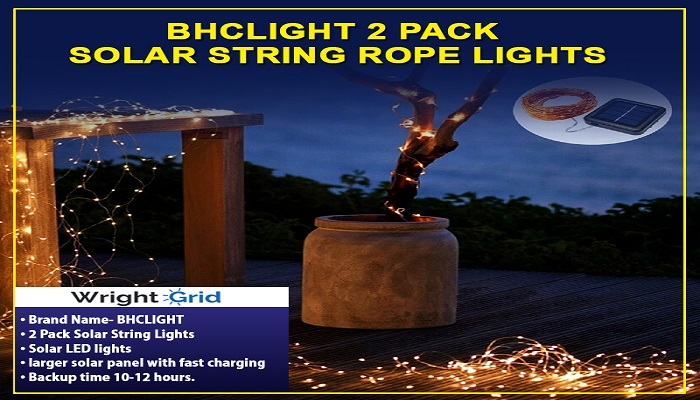 Decorate Your Home During Occasion With Solar Rope Lights