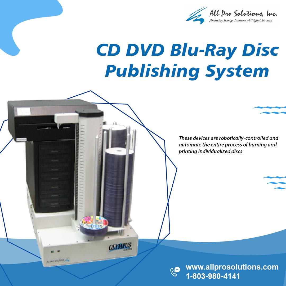 Disc Publishing Systems Manufacturer and Innovator