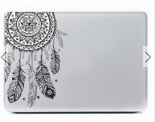 FEATHER PATTERN VINYL DECAL LAPTOP SKIN COVER STICKER FOR APPLE MACBOOK AIR...
