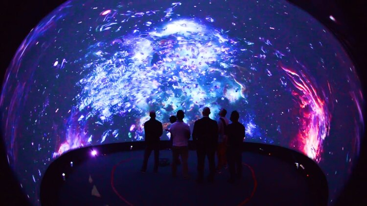 Fulldome for Museum and Exhibition Omnispace360