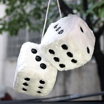 Get Fuzzy Dice for Car from PapaChina