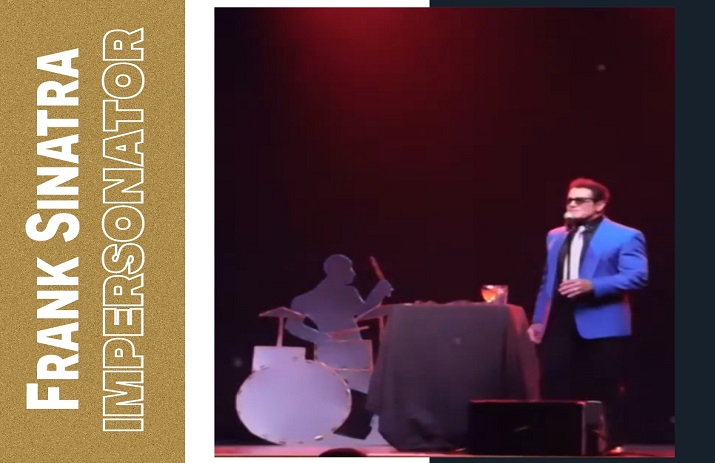 Hire Frank Sinatra Impersonator for Corporate Events