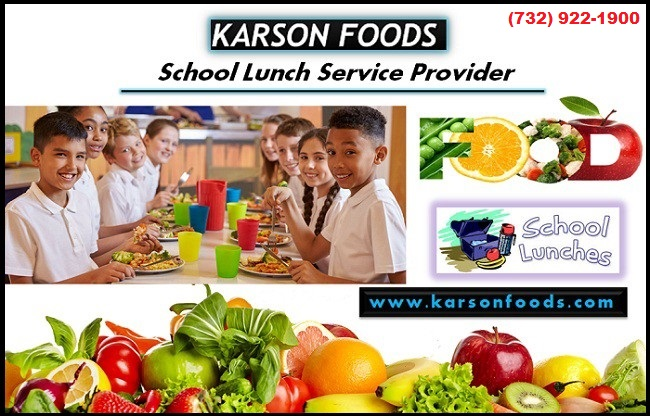 Hygienic School Lunch Meals Delivered Fresh Daily Karson Foods NJ