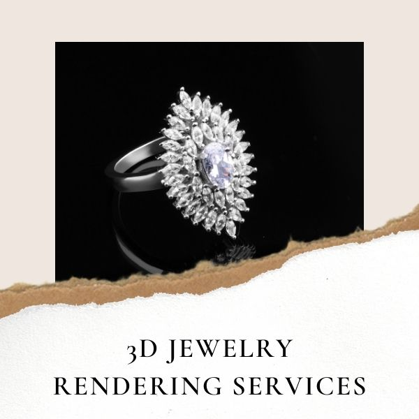 Jewellery CAD Designing and Rendering Services India