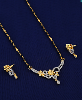 Latest mangalsutra design at lowest price by Anuradha Art Jewellery.