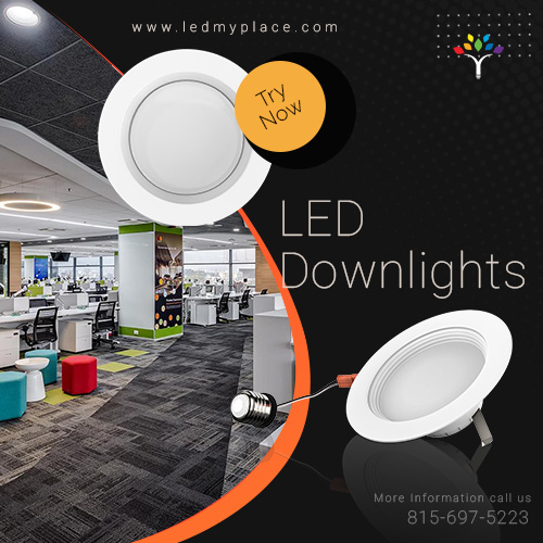 LED Downlights: come in various types and sizes