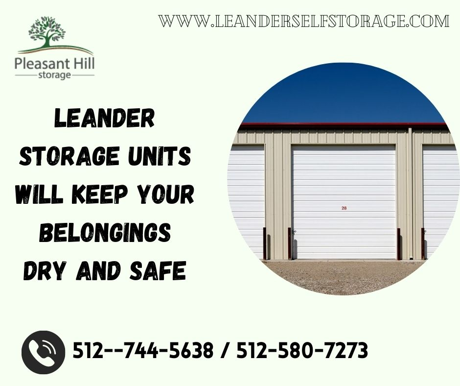 Locate the Best Leander Storage in Your Area
