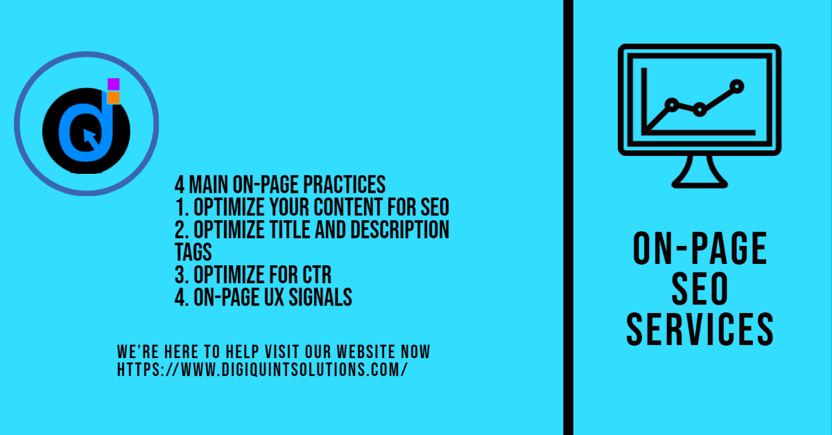 On Page SEO Service Providers Contact Us