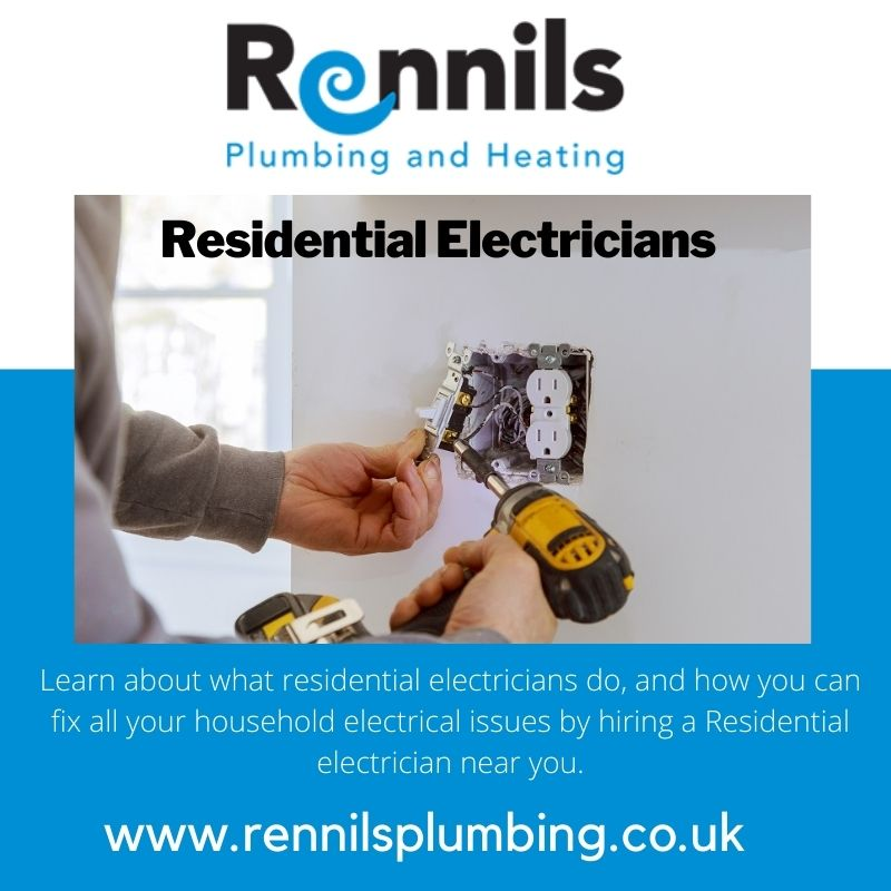 Residential Electricians Near Me Rennils Plumbing Services
