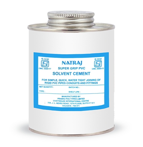 Solvent Cement Natraj Pipes Column Pipes for Submersible Pumps