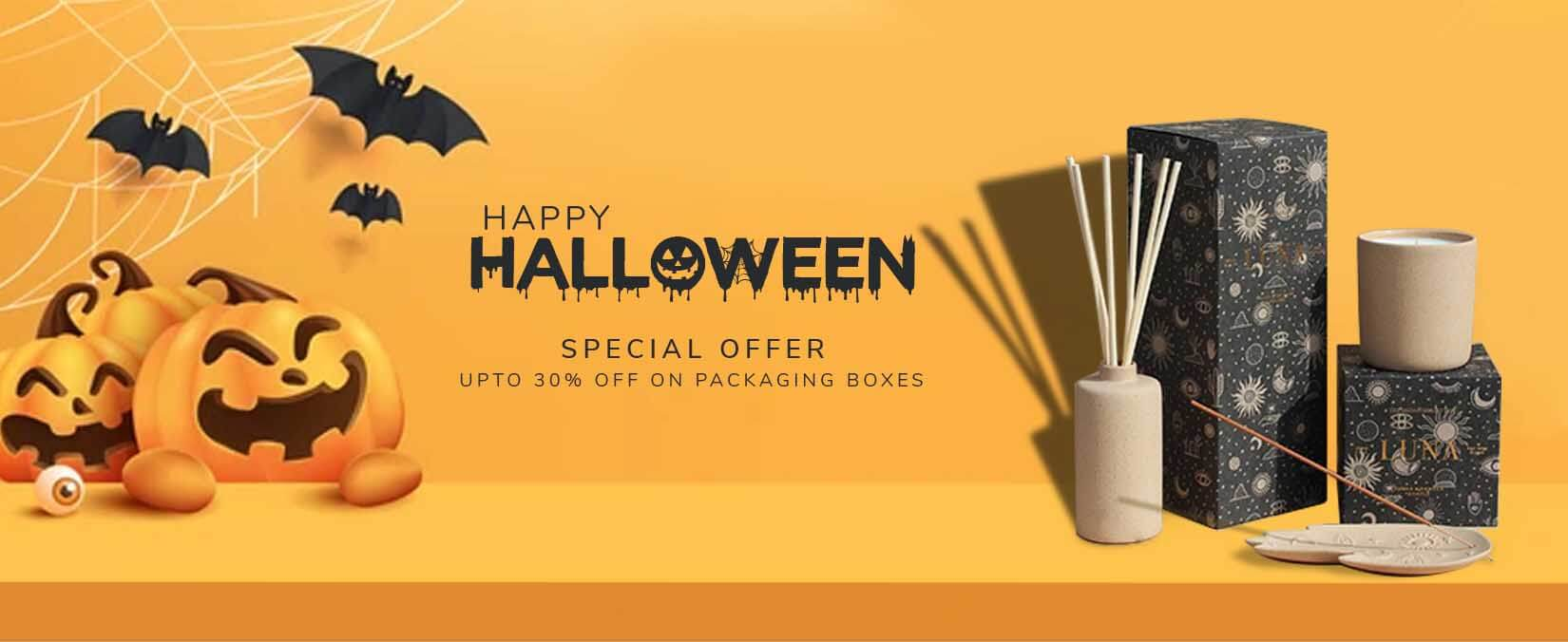 Special offer for Halloween Get 30 off at Boxes for Games