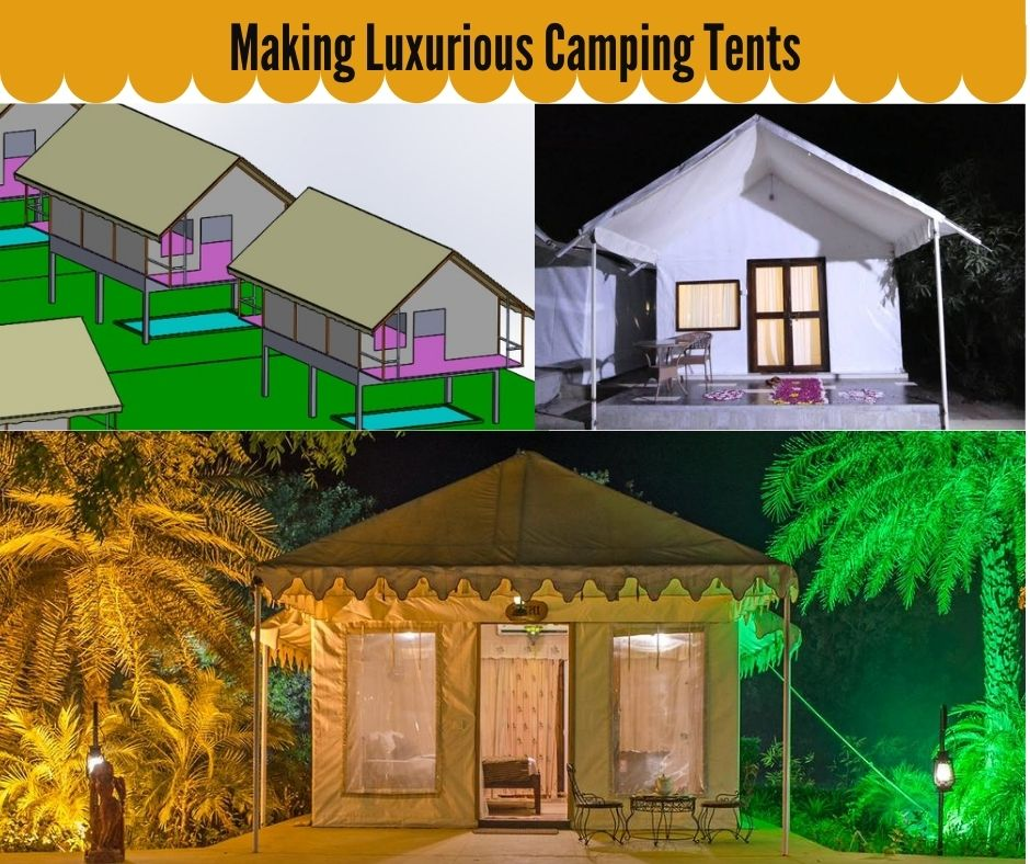 Tent Manufacturers in Jodhpur Rajasthan Camping Tent Supplier in India