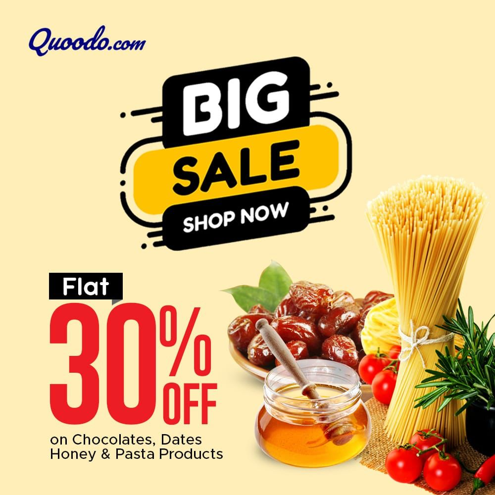 BIG SALES! ONLY AT QUOODO
