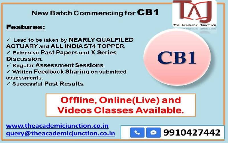 CB1 Exam Analysis Session Sept 2021 by The Academic Junction