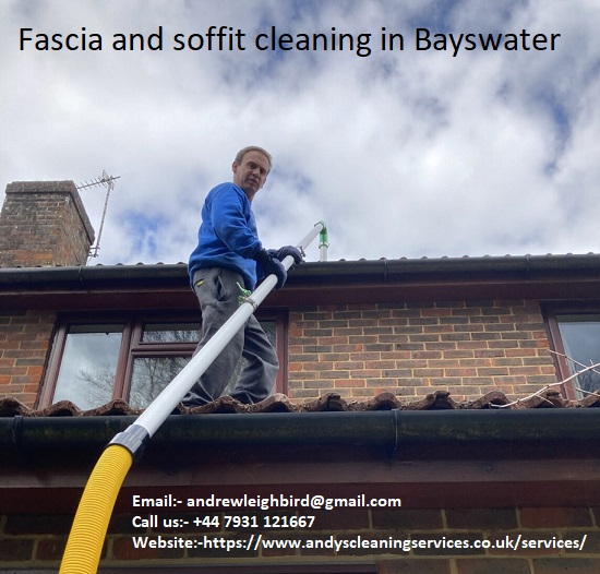 Fascia and soffit cleaning in Bayswater