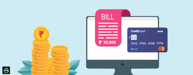How to pay all credit card bill payments with internet banking?
