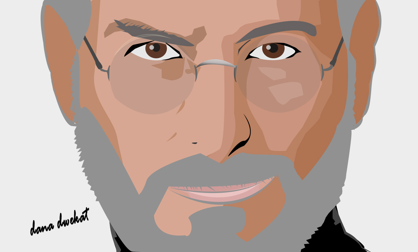 I will make a vector portrait artist for you