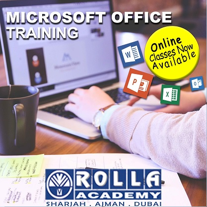 MS OFFICE LIVE ONLINE CLASSROOM TRAINING IN SHARJAH ROLLA ACADEMY