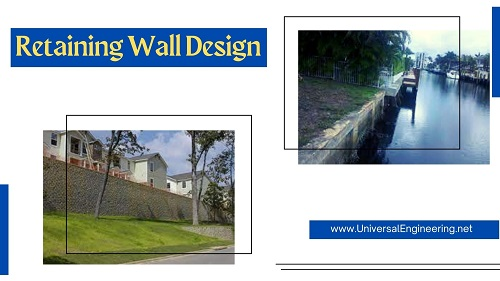 Retaining Wall Designing Contractors and Installation Services