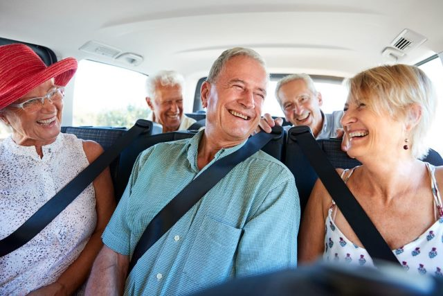 Safe and Secured Rideshare for Seniors