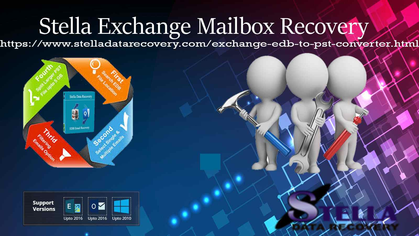Stella edb to pst software recover all corrupted edb files