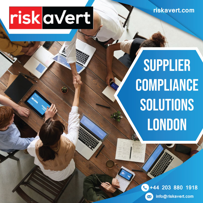 Get Supplier Compliance Solutions in London EASILY